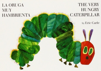 The Very Hungry Caterpillar in Spanish